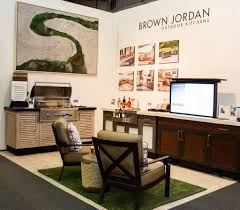 Brown Jordan Outdoor Kitchens Refresh Architectural Digest Design Show