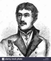 Prokesch von Osten, Anton Graf, 10.12.1795 - 26.10.1876, Austrian diplomat,  portrait, wood engraving, 19th century Stock Photo - Alamy
