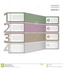 Infographics Process Chart Module Stock Illustration