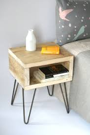 Blondie bedside table. Handmade side table made from reclaimed