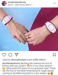 Light Pink Disney Magic Band New Light Pink Solid Color Millennial Magicbands Due Out In