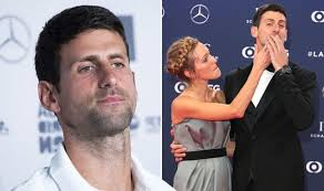 Novak djokovic's views on life reflect how thin the line is between finding solace in spirituality and potentially projecting dangerous narratives, like opposing novak djokovic is not only the world's no 1 tennis player, but one of the most famous people in serbia. Novak Djokovic Wimbledon 2019 Winner Addresses Moment With Wife Jelena Celebrity News Showbiz Tv Express Co Uk