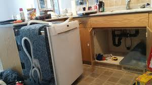 how to install dishwasher that is few cabinets away from kitchen sink