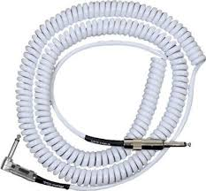 Lava Cable <b>Retro Coil</b> Right Angle to Straight - WHITE | eBay