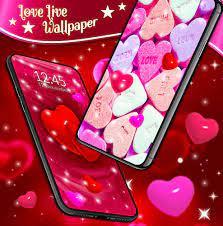 Love Live HD Wallpaper ❤️ Hearts 4K ...