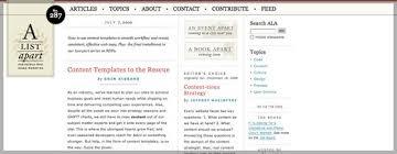 Азбука web разработчика Хабрахабр a a list apart