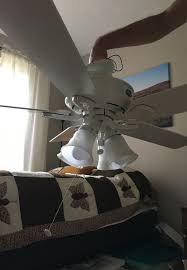 hunter ceiling fan with light kit fan may need new motor free