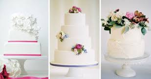 An Old Classic Revived White Wedding Cakes Are Back Onefabdaycom