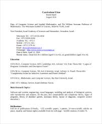 Science Resume Publications Computer Science Teacher Resume