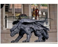 unique dragon iron base meval glass