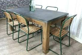 zinc top table full size of zinc dining room tables industrial style top table large rustic metal astonishing 5 zinc top table round