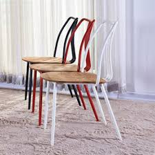 modern metal dining chairs. Plain Dining YINGYI Hot Selling Modern Metal Dining Chair Without Arms High Qualityin  Chairs From Furniture On Aliexpresscom  Alibaba Group To