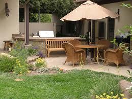 Outdoor Kitchen Roof Exterior Simple Vintage Outdoor Kitchen Patio Designs Using