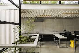 shipping containers office. Container: Modular And Sustainable Office Structure With Industrial Panache Shipping Containers