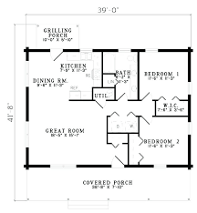 2 bed 2 bath house plans floor plan first story of log cabin plan 1000 sq