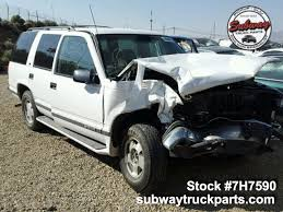 All Chevy 97 chevy k1500 parts : Used Parts 1997 Chevrolet Tahoe 5.7L 4x4 | Subway Truck Parts, Inc ...