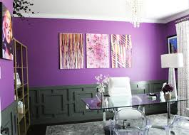 purple office decor. pink office with purple and decor l