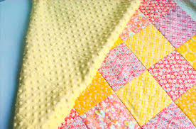 How to Make A Minky Backed Baby Quilt | WeAllSew & How to make a Minky backed baby quilt Adamdwight.com