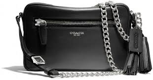 Lyst - Coach Legacy Flight Bag in Leather in Black