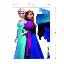 Small Picture Ome Theater Projector Screen Size Movie Elsa Anna Wall Stickers