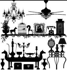 antique home decoration furniture. Antique Home Decoration Furniture Interior Design Ancient Old Retro Royalty-Fri Clipart, Vektorer Och Stockillustrationer. Image 18812191. 0