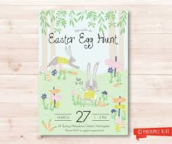 Easter Egg Hunt Printable Template Floss Papers