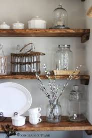 Best 25+ Dining room floating shelves ideas on Pinterest | Wood floating  shelves, Floating shelves kitchen and Floating shelves in kitchen