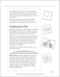 Pocket Chart Poems For Kindergarten 30 Pocket Chart Poems That Teach Phonics By Linda B Ross