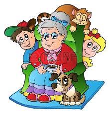 Znalezione obrazy dla zapytania babcia i dzieci obrazki