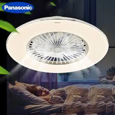 Wie gestaltet man eine romantische beleuchtung mit welchen zusatzfunktionen sind schlafzimmerlampen zu haben? Black Friday 37 Off Panasonic Led Decke Fan Licht Mit Dimmen Fernbedienung Grosse Grosse 23 Inch Zimmer Schlafzimmer Wohnzimmer Fan Lampe