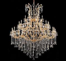 large chandelier lighting maria theresa collection 49 light extra large crystal