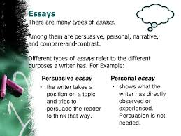 A Compare Contrast Essay Could Be Written In Third Person