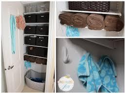 Narrow Linen Cabinet Linen Closet Organization 2013 Update Pretty Neat Living