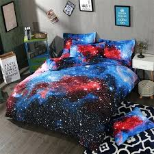space comforter galaxy bedding set earth moon print gorgeous unique design outer quilt cover full