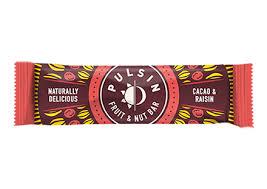 Pulsin - Cacao & Raisin <b>Fruit & Nut Bar</b> 18 Pack – Healthy Buzz ...