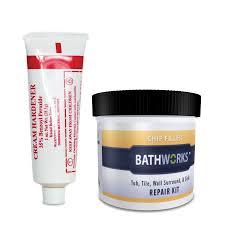 bathworks off white tub and tile repair