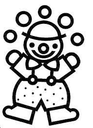 Clowntje Piet Kleurplaat Peuteryoga Clowntje Piet On Pinterest