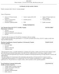Security Clearance Resumes Veteran Resume Makeover How To Adapt The Resume To The Job