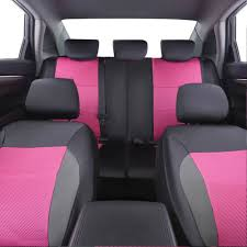 car pass breathable pink color pu