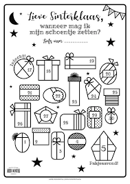 Sinterklaas Briefpapier Printen Thf13 Agneswamu