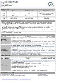 Professional Curriculum Vitae Professional Sample Template One Page