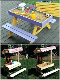 diy sand table amazing picnic table and sand table combo diy sand table ikea