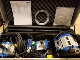 Buy Arri Light Kit Used Arri Softbank D1 Three Light Kit By Arri Group Item