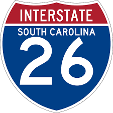Interstate 26 in South Carolina