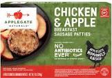 apple chicken patties