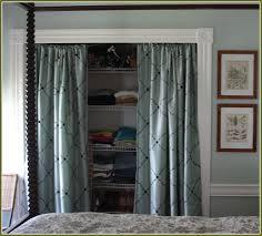curtain for closet door ideas amazing idea curtains for closet doors pictures ideas