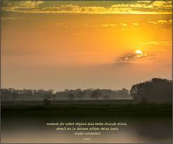 Der Spruch Zum Mittwoch 1018 Foto Bild Sonnenaufgang