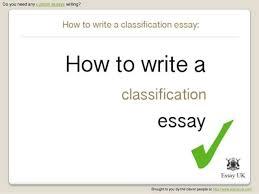 for a classification essay topics for a classification essay
