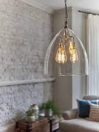 clear glass pendant ceiling light l