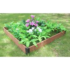 composite raised garden bed.  Bed Vigoro YHD Composite Raised Garden Bed Inside